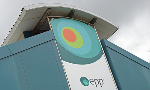 A photograph of the EPP environmental centre